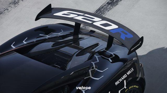 McLaren 620R: una GT4 omologata per la strada