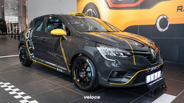 La nuova Renault Clio è pronta per i rally