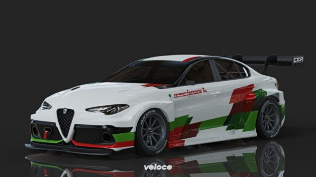 Romeo Ferraris: la Giulia elettrica da corsa