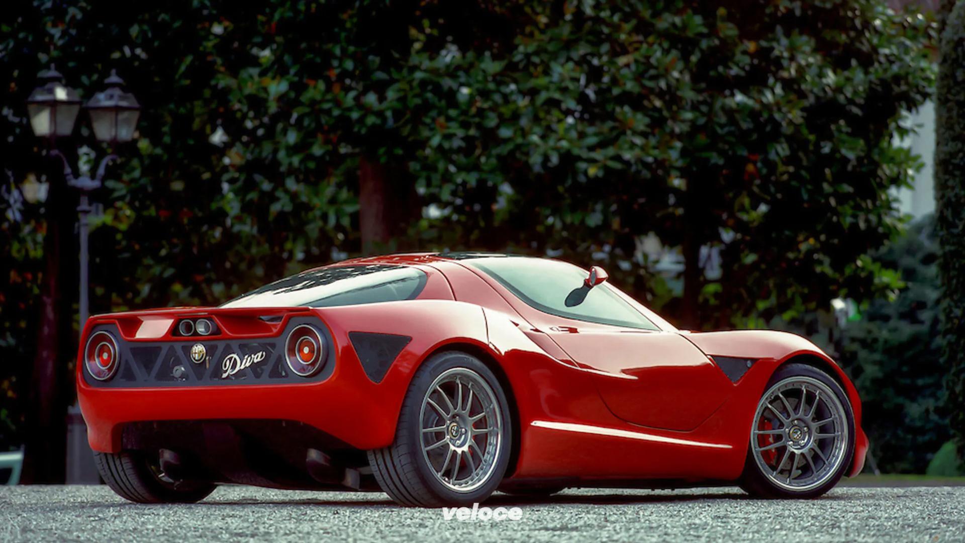 Alfa Romeo Diva: la concept col V6 di Busso