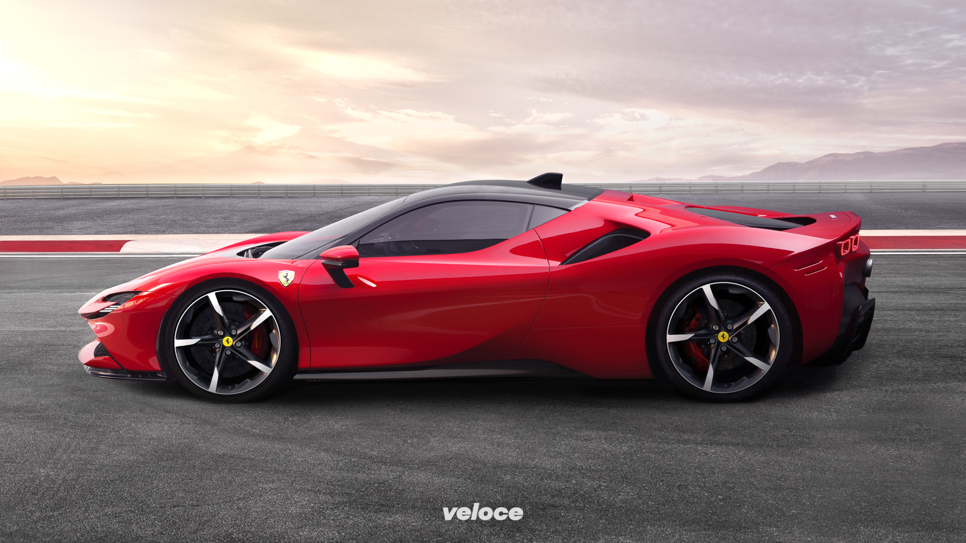 SF90 Stradale: la tecnica della Ferrari da mille cv