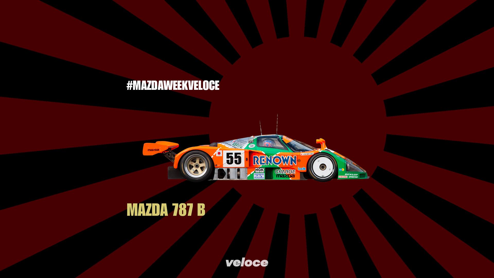Mazda 787B: il rotativo 'sul tetto' del mondo