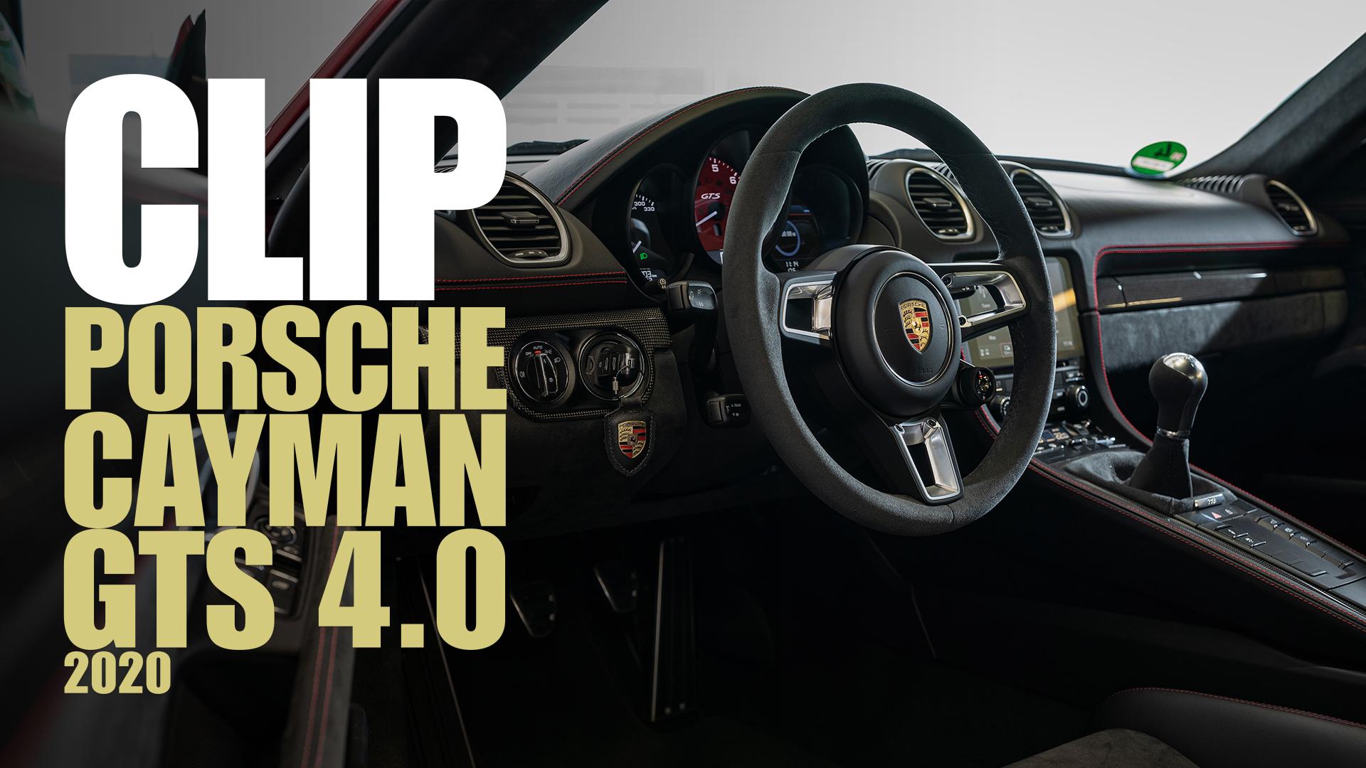 Porsche 718 Cayman GTS 4.0: bentornato flat-six