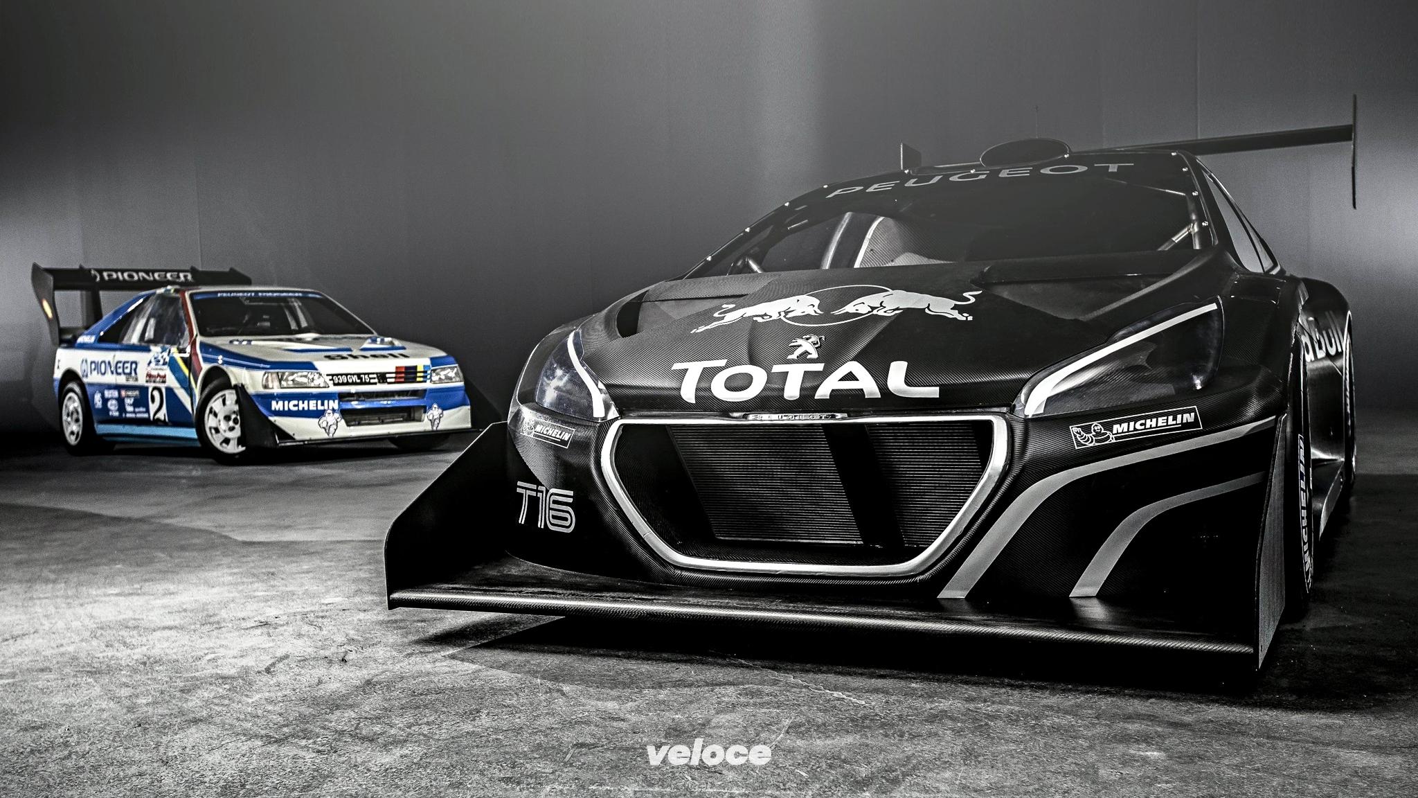 Peugeot e Pikes Peak: le eroine della cronoscalata