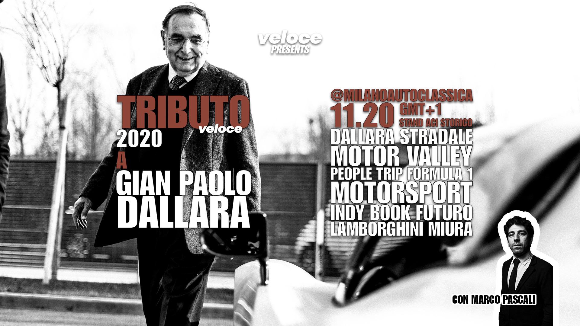 Premio tributo Veloce: il 26 settembre a Dallara