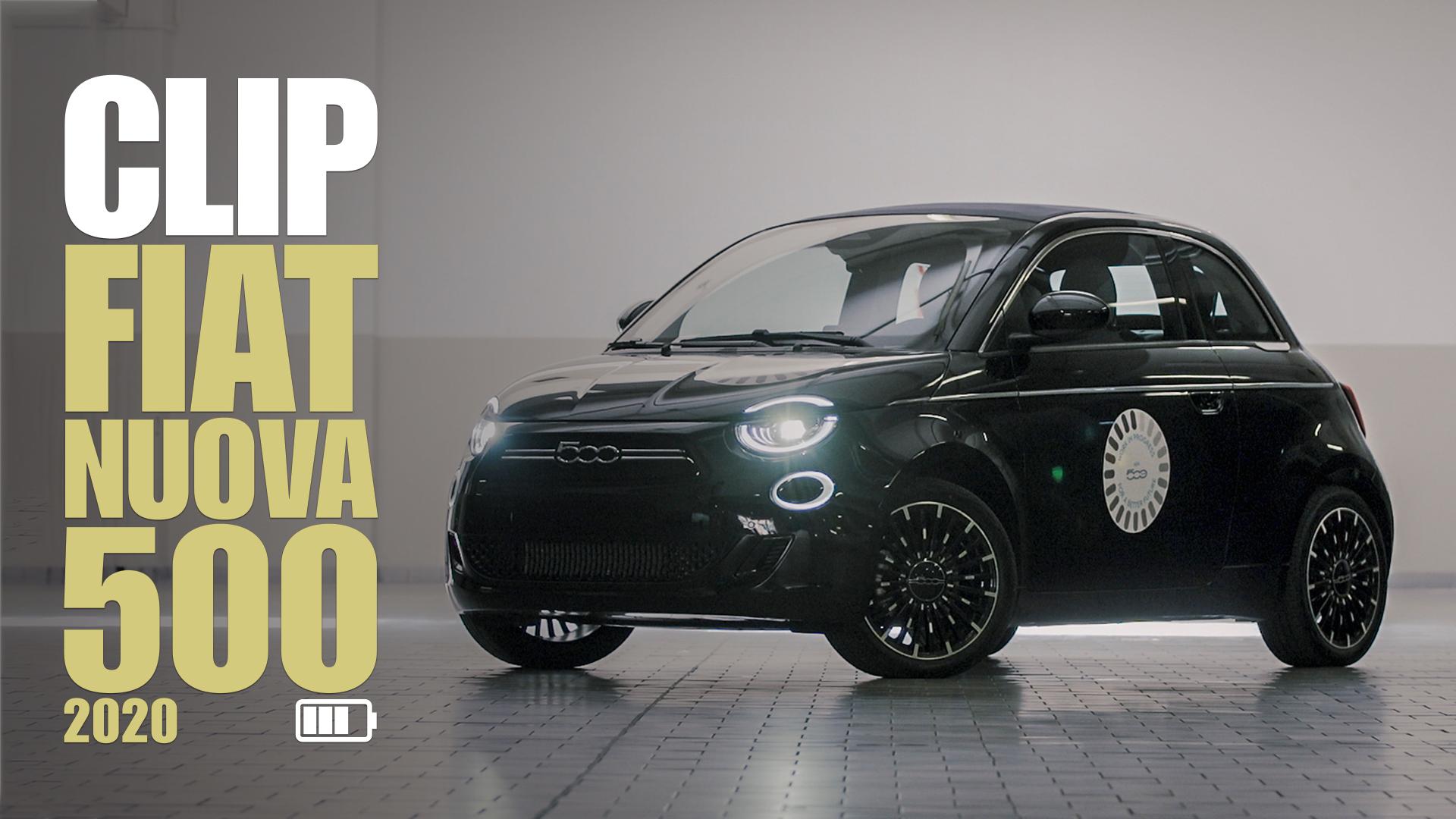 Fiat Nuova 500: a tu per tu con l'EV di Torino