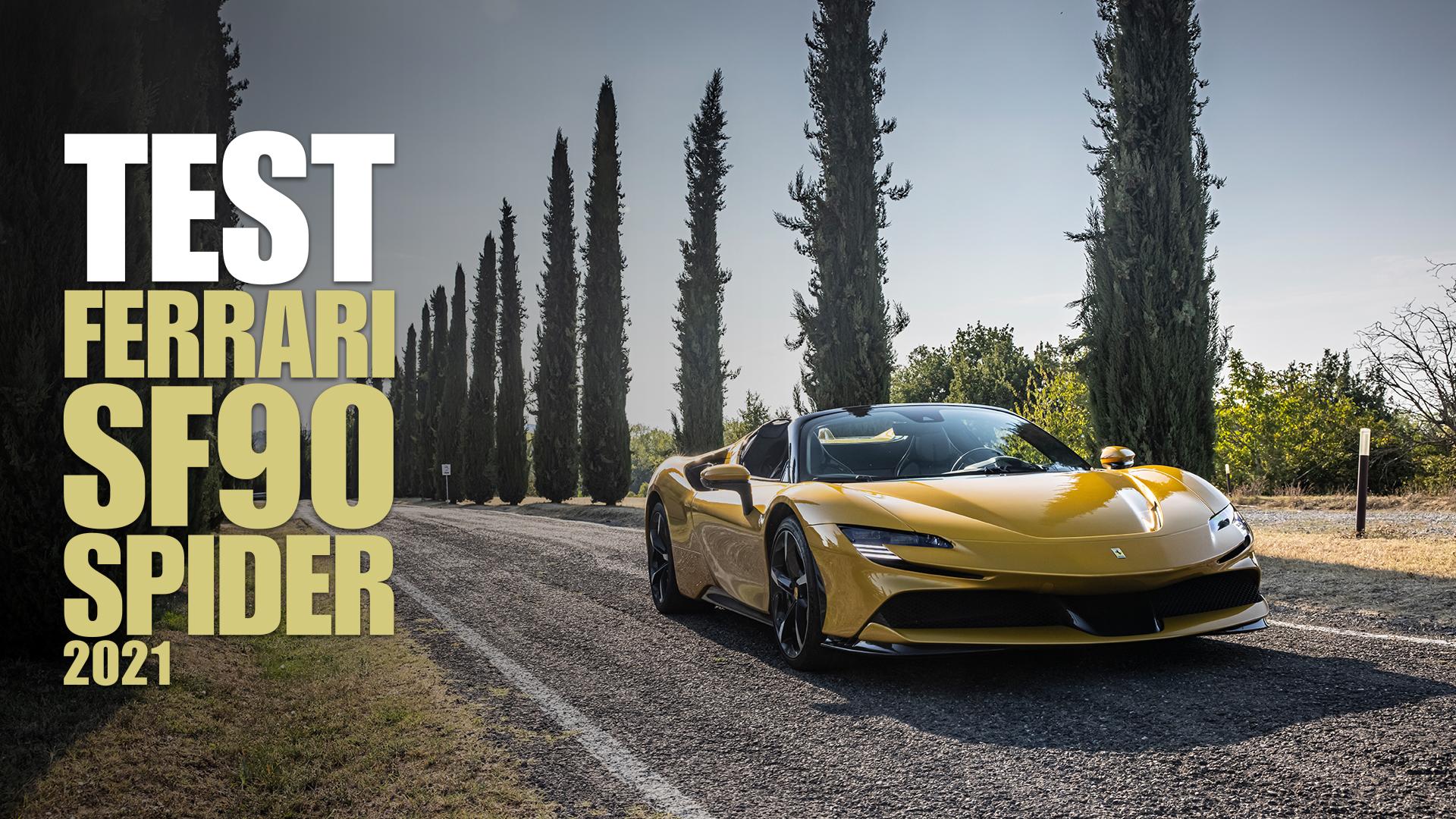 Ferrari SF90 Spider: il domani della velocità