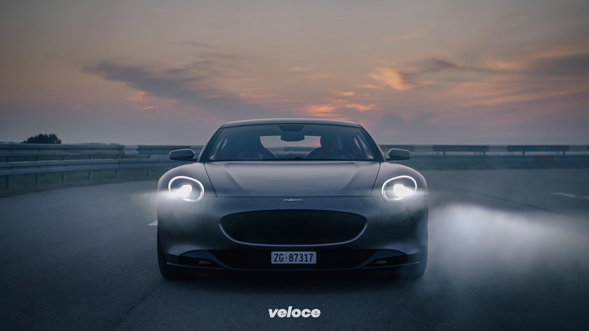 Piëch GT, la super sportiva EV svizzera dal sapore retrò